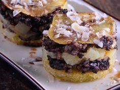 Receta | Milhojas de patata y morcilla - canalcocina.es