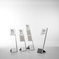 Floor-mounted display panel I-FLAG Systemtronic