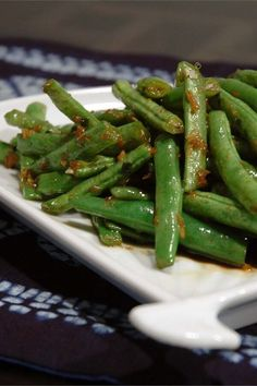 """Asian-Inspired Green Bean Salad 