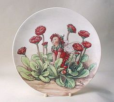 Double Daisy Fairy plate from the Wedgwood collection