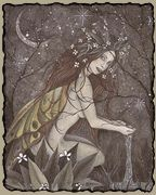 Olwen    Celtic (Welsh) Goddess of flowers and springtime. Also symbolizes love and re-birth.