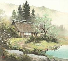 Магические пейзажи Koukey Kojima (700x627, 333Kb)