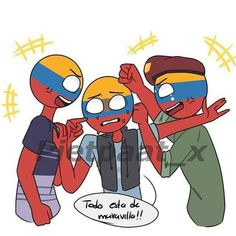 Read Bolivia y Chile from the story Countryhumans [Cómics] by sunisinmortal with reads. Ecuador, Dont Hug Me, Mundo Comic, Country Art, Hetalia, My Hero, Chibi, Disney Characters, Fictional Characters