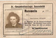 SS Ravensbruck guard ID. Holocaust Research Project Liverpool Fc Badge, Global Conflict, Evil People, Mystery Of History, Lest We Forget, Women In History, World War Two, Wwii, History
