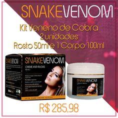 #snake #venon #venenodecobra #veneno #cobra #beleza #cosmético #saúde #pele #rosto #rugas #tratamento