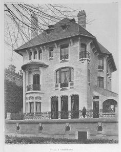Villa Marcot (1908) 16 Avenue Thiers (Compiègne) Arch. Sauvage  marcot 1.jpg (JPEG Image, 665×838 pixels)