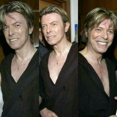 June 29th 2002. David Bowie Meltdown After Show Party at The Royal Festival Hall, London. Photo by Kevin Mazur.