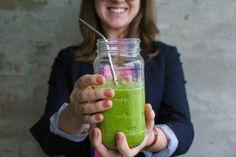 Green Monster Smoothie #vegan #smoothie #healthy Green Monsters, Empty, Smoothie, Mason Jars, Vegan, Mugs, Healthy, Tableware, Dinnerware