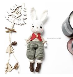 Crochet Bunny, Crochet Animals, Crochet Toys, Knitting Toys, Amigurumi Toys, Amigurumi Patterns, Crochet Patterns, Cute Baby Gifts, Cute Babies