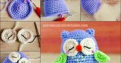 Cómo confeccionar un amigurumi búho paso a paso en video Curso gratis de crochet