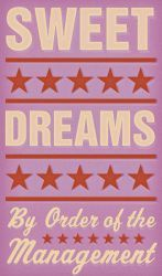 """Sweet Dreams, kids art from the """"By Order of Management"""" series by John W. Golden."""