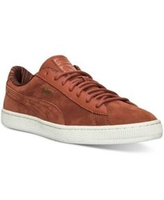 Puma Men's Basket Classic Citi Series Casual Sneakers from Finish Line - Brown 12