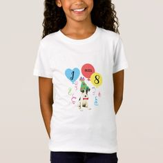 Birthday Party Balloons Smooth Fox Terrier T-Shirt   diy pug, lab gifts, funny drinking gifts #puglife #buyhandmade #pugtoy Puppy Birthday Parties, Birthday Gifts, Smooth Fox Terriers, Personalized Buttons, Colourful Balloons, Happy Birthday Greetings, Cute Pugs, T Shirt Diy, Cute Designs