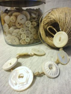 Super easy DIY for making your own button bracelets!