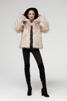 See more faux fur coats and jackets on other pin or visit our website.  Very good quality of our products . Soon to buy on Ebay Fake Fur, Fur Coats, Faux Fur Jacket, Winter Jackets, Nude, Website, Stuff To Buy, Ebay, Collection