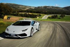 While the Ferrari 458 has been the alpha dog in the sports-car class for many years, Lamborghini may now be ready to eat at least some of Ferrari's lunch -- maybe a veggie side dish. Best Lamborghini, Lamborghini Huracan Spyder, Top Sports Cars, Weird Cars, Crazy Cars, Performance Cars, Latest Cars, Hot Cars, Sexy Cars