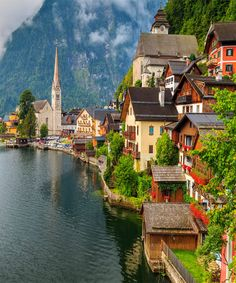 Small Towns in Austria.