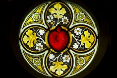 Gothic Church, stained glass windows #3 by storvandre, via Flickr