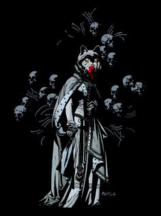 Hellboy: The Wolves of St. August by Mike Mignola, Disturbing and awesome.