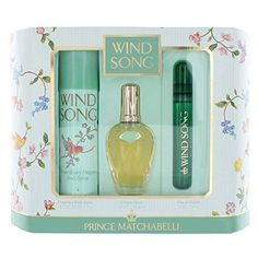 Prince Matchabelli 3 Piece Wind Song Perfume Gift Set - http://www.theperfume.org/prince-matchabelli-3-piece-wind-song-perfume-gift-set/