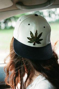 marijuana, weed, cap, snapback, black and white, white hat   Wheretoget.it