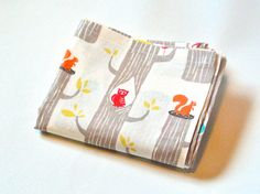 Children's Napkins - Set of 4 - ORGANIC Cotton Birch Fabric - Small Kid Child Cloth Reusable Lunch Napkin on Etsy, $12.00