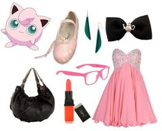 Jigglypuff! Well here's my outfit for your shower :)
