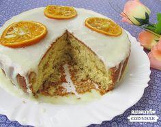 Bolo de tangerina - Amando Cozinhar - O bolo não leva margarina/óleo, nem leite e fica super fofinho, você pode ver nas fotos. É um bolo grande, se quiser fazer metade, pode fazer numa forma de 21cm.