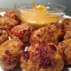 Heavenly Scents Recipes: Cream Cheese Sausage Balls