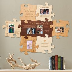 Show the family how well they fit together! Give everyone a puzzle piece that celebrates their forever connection.