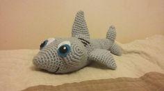 szydełkowy rekin amigurumi shark