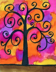 Klimt tree - tree of life