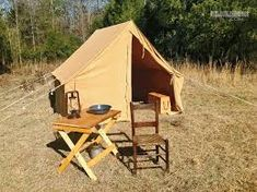 Image result for canvas wall tent