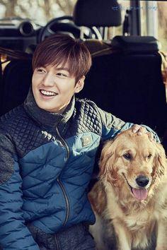 Cute !!!!! Bugusshuppinyo Lee Min Ho-sshi..... ♡