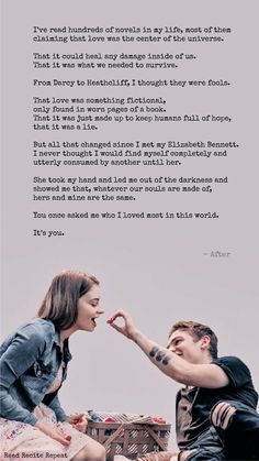 Dialogue from movie: After Romantic Book Quotes, Romantic Movie Scenes, Movie Love Quotes, Favorite Movie Quotes, Quotes For Book Lovers, Film Quotes, True Quotes, Love Quotes For Crush, After Buch
