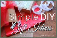 Again this year we're publishing homemade Christmas gift ideas to inspire you to make more gifts yourself, and to make them naturally. Plus a Black Friday Sale!