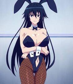 🔥 que conejita ➡ Anime / Serie : Masou Gakuen HxH ➡ Personaje : Reiri Hida Anime Sexy, Anime Fille Sexy, Chica Anime Sensual, Anime Girl Hot, Anime Girls, Manga Girl, Girls Characters, Anime Characters, Toddler Girls
