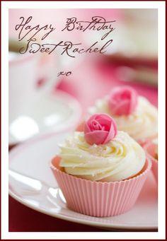 Happy Birthday To Rachel