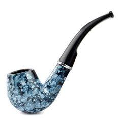 World Pride Wood-like Smoking Tabacco Pipe (Marbling): Smoking Pipe Gift