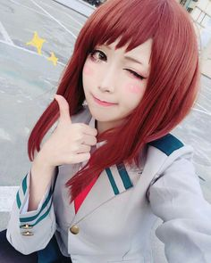 Best Anime merch at affordable prices. Cosplay costumes, clothes, accessories and figures. Up to off Check out our site. Kawaii Cosplay, Cosplay Anime, Uraraka Cosplay, Cosplay Tumblr, Cute Cosplay, Cosplay Makeup, Cosplay Outfits, Best Cosplay, Cosplay Girls