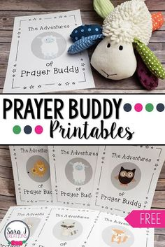 Helping Students Pray with Prayer Buddy Help your students pray and connect home and school with Prayer Buddies. The free printables give kids ideas for how to pray to God while Prayer Buddy is visiting them at home. Sunday School Crafts For Kids, Sunday School Activities, Sunday School Lessons, Bible Activities, Sunday School Rules, Preschool Bible Crafts, Kindergarten Sunday School, Religion Activities, Rainbow Activities