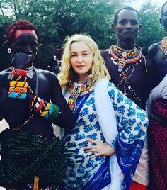 Madonna ve Çocuklarının Kenya Seyahati