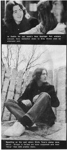 Rory Gallagher, St Stephen's Green, 1971