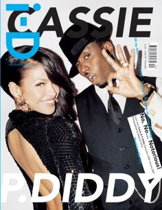 i - D January 2007 - Cassie & P.Diddy in 'The Older & Wiser issue'