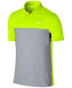 NIKE Nike Men'S Icon Dri-Fit Color-Blocked Golf Polo. #nike #cloth #down shirts