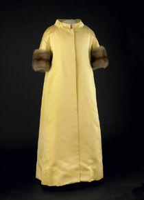 Lady Bird Johnson's Inaugural Coat, 1965