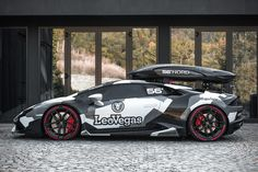 Jon Olsson is known for two things: skiing and camo-wrapped cars. For nearly a decade he's been driving around in beautiful cars like an Audi DTM, an Audi a Lamborghini Gallardo, a La… Lamborghini Huracan, Custom Lamborghini, Audi Rs6, Freestyle Ski, Camouflage, Volkswagen 181, Unique Cars, Fast Cars, Supercars