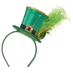 Amscan Green Top Hat Fashion St. Patrick s Day Headband (2-Pack) 242e9e27c591
