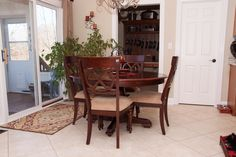 What a great dining room set and the owner loves to brag about the money she saved through purchases at DirectBuy of Indianapolis.  To find out about the savings, call and schedule a free savings seminar at 317-472-9817