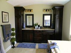 Bathroom cabinets?